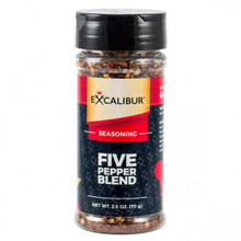 Excalibur Seasoning Five Pepper Blend - 729009666306