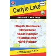 Fishing Hot Spots Carlyle Lake Map