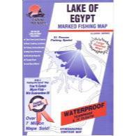 Fishing Hot Spots Lake Of Egypt Map