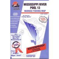 Fishing Hot Spots Miss River Pol 13 Il.ia Map