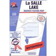 Fishing Hot Spots Lasalle Lake Map