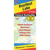 Fishing Hot Spots Reelfoot Lake Map