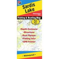 Fishing Hot Spots Sardis Lake Map