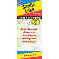 Fishing Hot Spots Sardis Lake Map