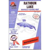 Fishing Hot Spots Rathbun Lake Map