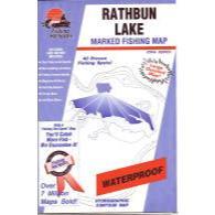 Fishing Hot Spots Rathbun Lake Map