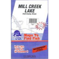 Fishing Hot Spots Mill Creek Map
