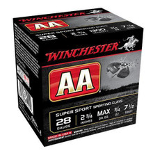 "Winchester AASC 28GA 2-3/4"" 3/4OZ 7's Case"