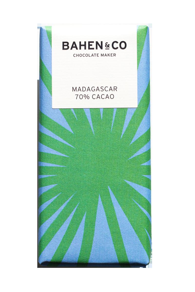 Madagascar Stone Ground Chocolate Bar