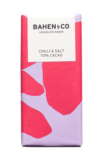 Chilli and Salt- Stone Ground Chocolate Bar