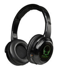 10 LED Rechargeable Silent Disco Headphones + 1 Single Transmitters