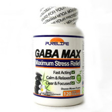 DESCRIPTION Our fastest acting stress and anxiety relief product, GABA-MAX features the same active ingredients as Gabatrol plus added TMG and DMAE, amino-acids shown to boost focus and brain cognition. Being that GabaMax comes in powder form, it's great for mixing in your favorite beverage (we recommend water, fruit smoothies, or even tea!).  Become the best version of yourself- positive, motivated, and energized!