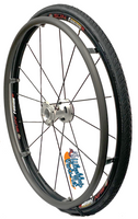 "25"" (559mm) Fusion 16 Rear Wheel With 16 Spokes. Choose Your Tire"