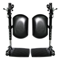 Elevating Leg Rests with Calf Pad for Jazzy and Jet Power Chairs. Sold as Pair