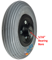 """CW192 8 x 2"""" Pneumatic Tire and Tube Assembly With 5/16"""" Bearings"""