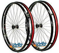 "SET of 2,  24"" (540mm) L20 rim with 36 Spokes by Sun. Choose Your Tire"