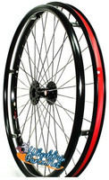 "Set of 2, 24"" (540mm) CR20 SPORT or EVERYDAY Rear Wheel. Choose Your Tire"