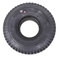 "F059- 10X3""  KNOBBY BLACK TIRE - NON MARKING"