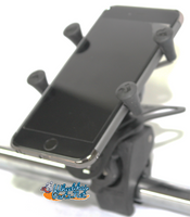 Cell Phone Holder (Universal) w/ Mounting  Clamp.