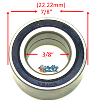 "B06P- 3/8"" X 7/8"" (22.22mm) PRECISION CASTER  REF #R6RS. Sold as Pack of 4"