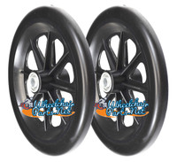 "CW160 Invacare 8"" x 1"" Wheel Assembly. One Pair."