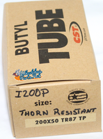 I200P 200X50 Thorn Resistance Inner Tube. Sold as Pair