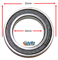 B135P 20mm X 32mm X 7mm PRECISION BEARING