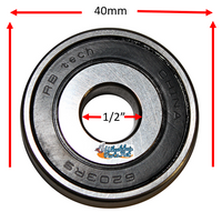 "B170P 1/2"" X 40mm Precision Bearing"