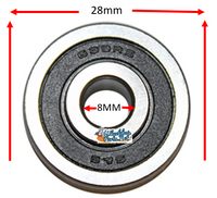 B175P 8MM (5/16) x 28mm X 9mm Precision Bearing