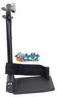 """FRB412R RIGHT SIZE TOP LATCH FOOTREST, BLACK COLOR- 1 3/8"""" PIN SPACING"""