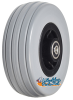 "6""x2"" Front and Rear Caster Wheel for the Quantum Q6 Edge & Q6000Z"