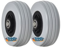 "6""x2"" Front and Rear Caster Wheel for the Quantum Q6 Edge & Q6000Z. SET OF TWO."