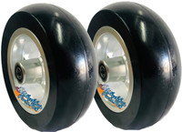 "CW509 Frog Legs Epic Aluminum Big Rig 6"" X 2"" Softroll-High Rebound Tire"