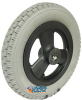 "RW023 - 12 1/2"" x 2 1/4"" Foam Fill Wheel Assembly. Sold as Pair"