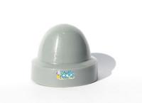 M096 E&J Style Gray Plastic DOME CAP