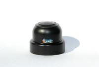 M098 Invacare Style Black Plastic DOME CAP