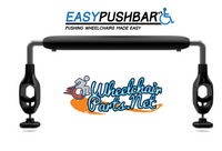 Easy Push Bar for Wheelchairs