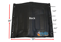 "16"" x 18"" Medline BACK - Black Color"