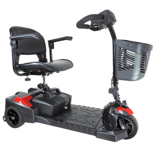 Drive Medical Scout 3 Compact Travel Scooter, 3 Wheel