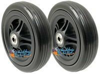 "CW540 5"" x 1.4"" Caster Wheel with 5/16"" Bearings. 1 1/2"" Hub Width"