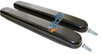 AR091P- FULL LENGTH (14in) PLASTIC BLACK - SOLD AS PAIR