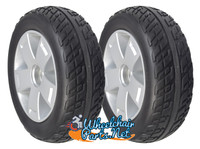 DW840 - SET OF 2 REAR WHEELS FOR VICTORY 10, 4 WHEEL SCOOTER.