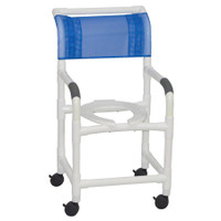 "MJM 18"" Shower Chair With HARD Seat and NO PAIL. FREE SHIPPING"