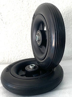 "6"" x 1 1/4"" Caster Wheels With 1 1/2"" Hub Length and 5/16"" bearings"