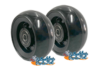 "CW402 3"" x 1.4"" Caster Wheel With Composite (nylon) Rim and 5/16"" Bearings."