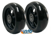 "CW404 4"" x 1.40"" Caster Wheel With Composite (nylon) Rim and 5/16"" Bearings"