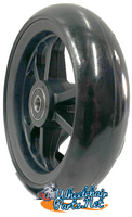 "CW406 5"" x 1.40"" Caster Wheel With Composite (nylon) Rim and 5/16"" Bearings"
