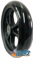 "CW408 6"" x 1.40"" Caster Wheel With Composite (nylon) Rim and 5/16"" Bearings"