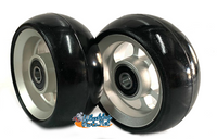 "CW401 3"" x 1.4"" Caster Wheel With Aluminum Rim and 5/16"" Bearings."