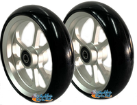 "CW405 5"" x 1.4"" Caster Wheel With Aluminum Rim and 5/16"" Bearings."